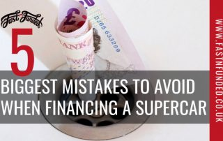 5 Mistakes Financing A Supercar