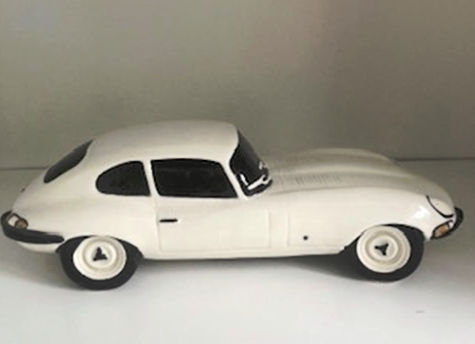 White Model Jaguar