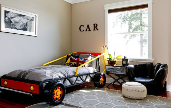 Car Mad Boys Bedroom